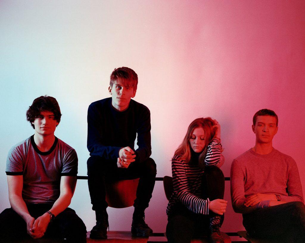 Sløtface PHOTO promo groupe norvégien