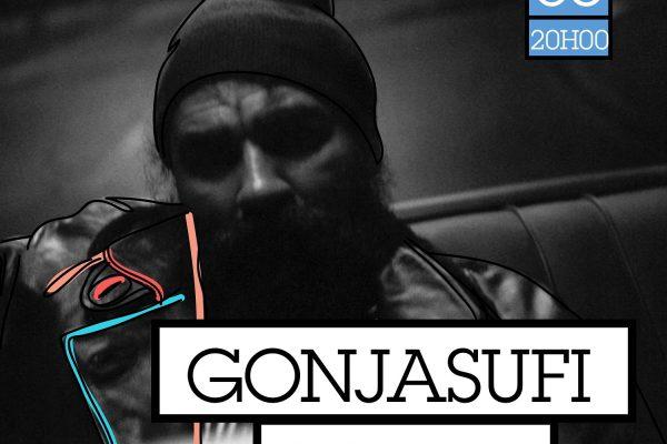 Gonjasufi en concert au Badaboum
